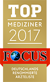 Siegel - TOP Mediziner 2016 - FOCUS