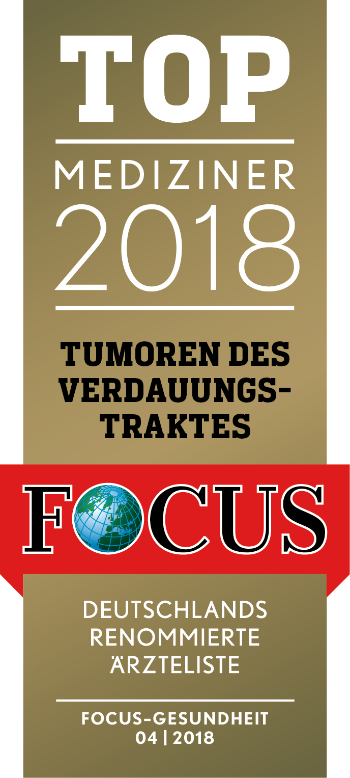 Siegel - TOP Mediziner 2018 - FOCUS